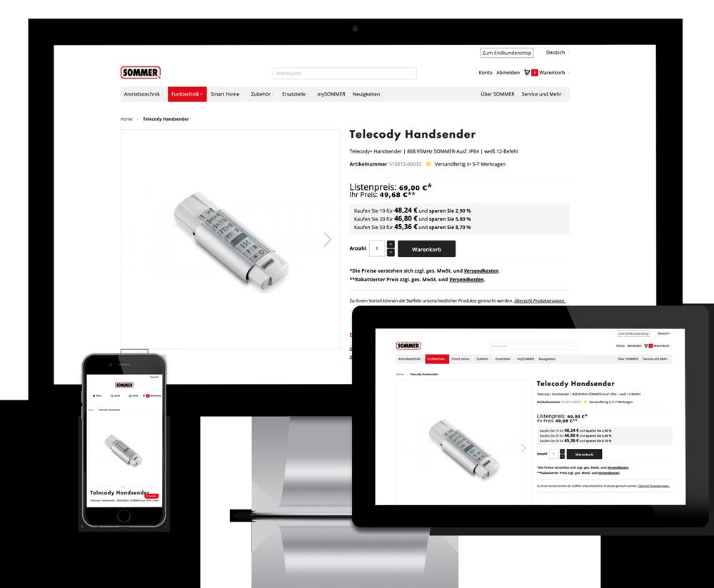 Online-Shop mit proALPHA und Integration mit Konekti