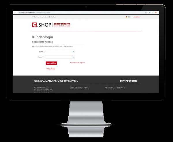 B2B Online Shop geschlossenes Portal