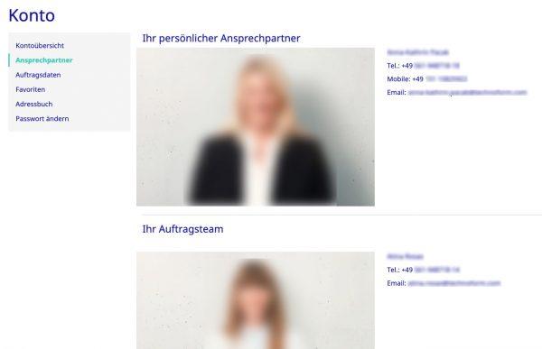 Persönliche Ansprechpartner aus SAP Business One